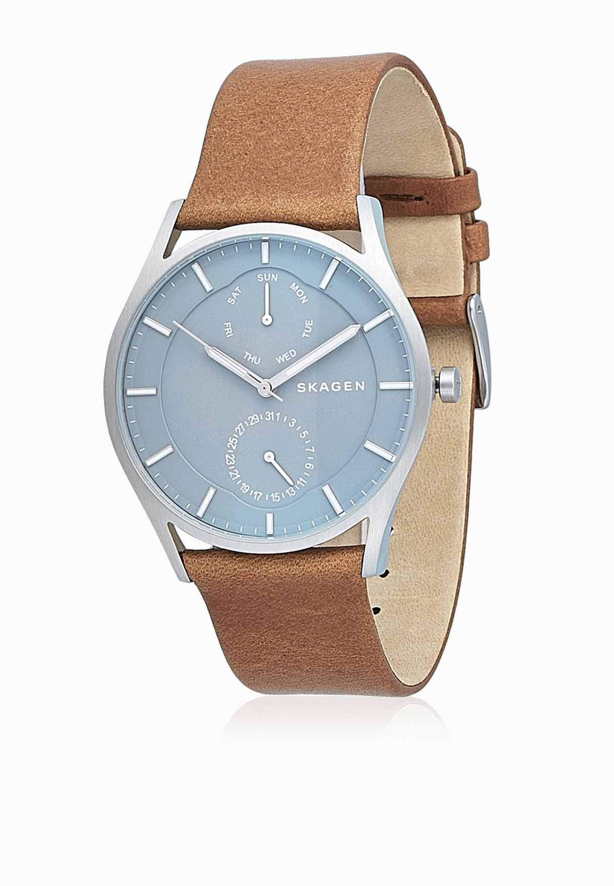 33fa2438b6b115 Shop Skagen browns Holst Watch SKW6264 for Men in Qatar - SK969AC13VQO