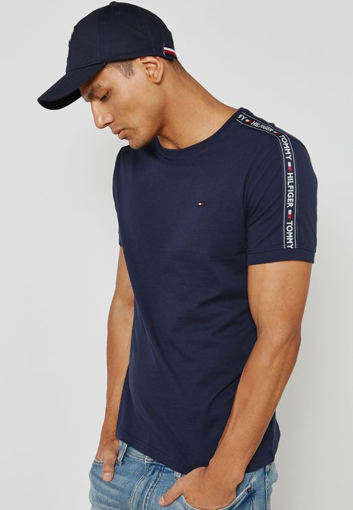 Tommy Hilfiger Stretch Crew Neck T-Shirts