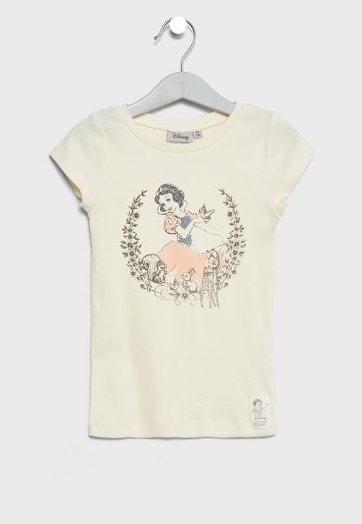 Little Snow White And Friends T-Shirt
