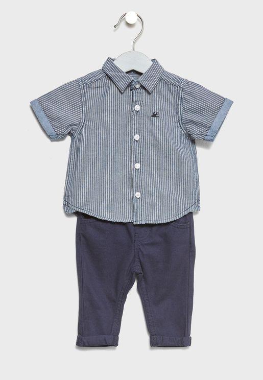 Infant Shirt + Pants Set