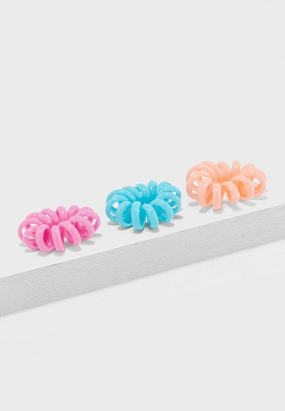4 Pack Chunky Spiral Headbands