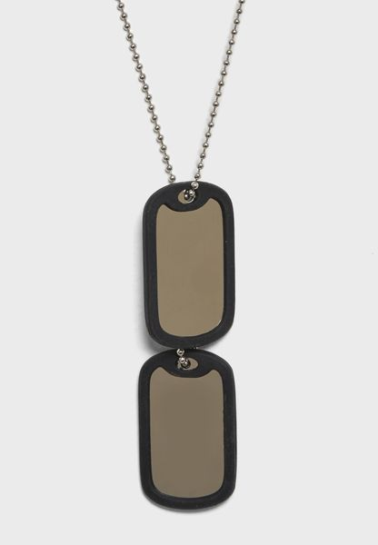 Double Tag Necklace