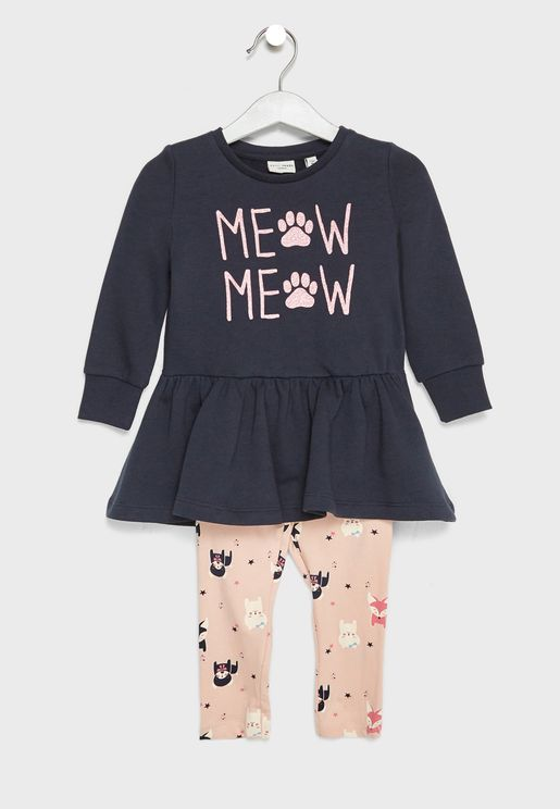 Infant Top + Leggings Set