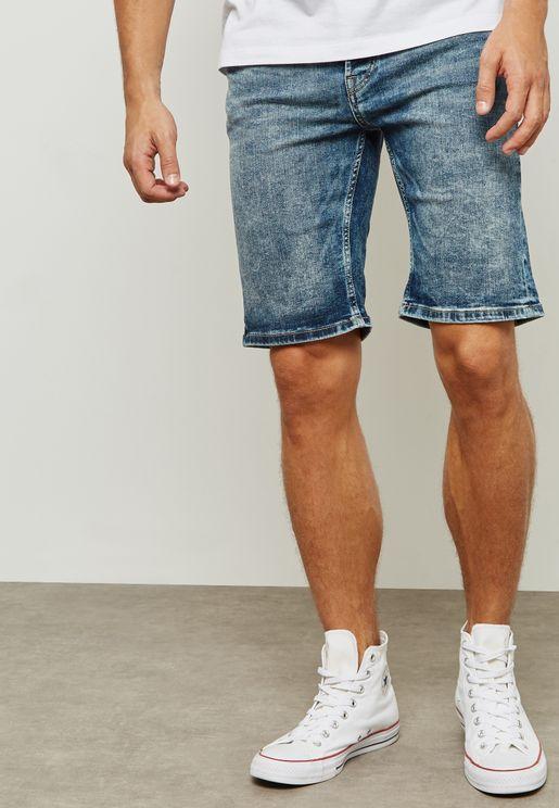 Ply Denim Shorts