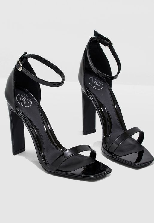2cbcaff1455 Square Heel Barley Sandal. Missguided