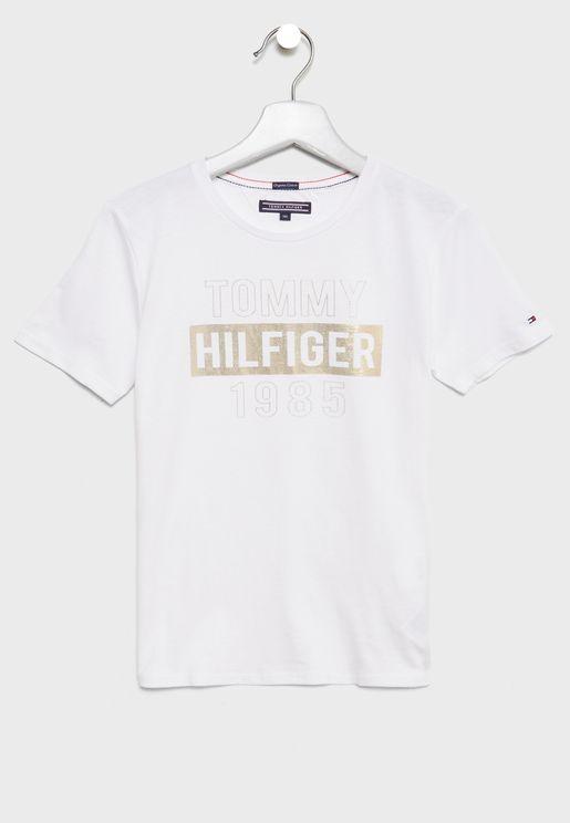 Teen Foil Print T-Shirt