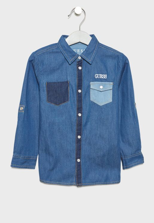 Little Denim Shirt
