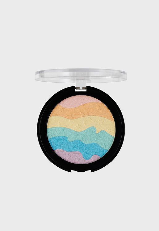 Rainbow Highlighter -Mermaid Glow