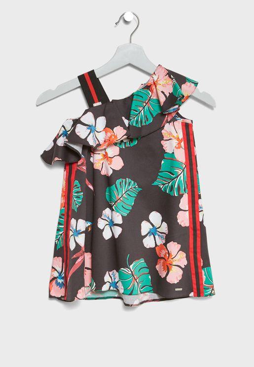 Little Frill Detail Dress