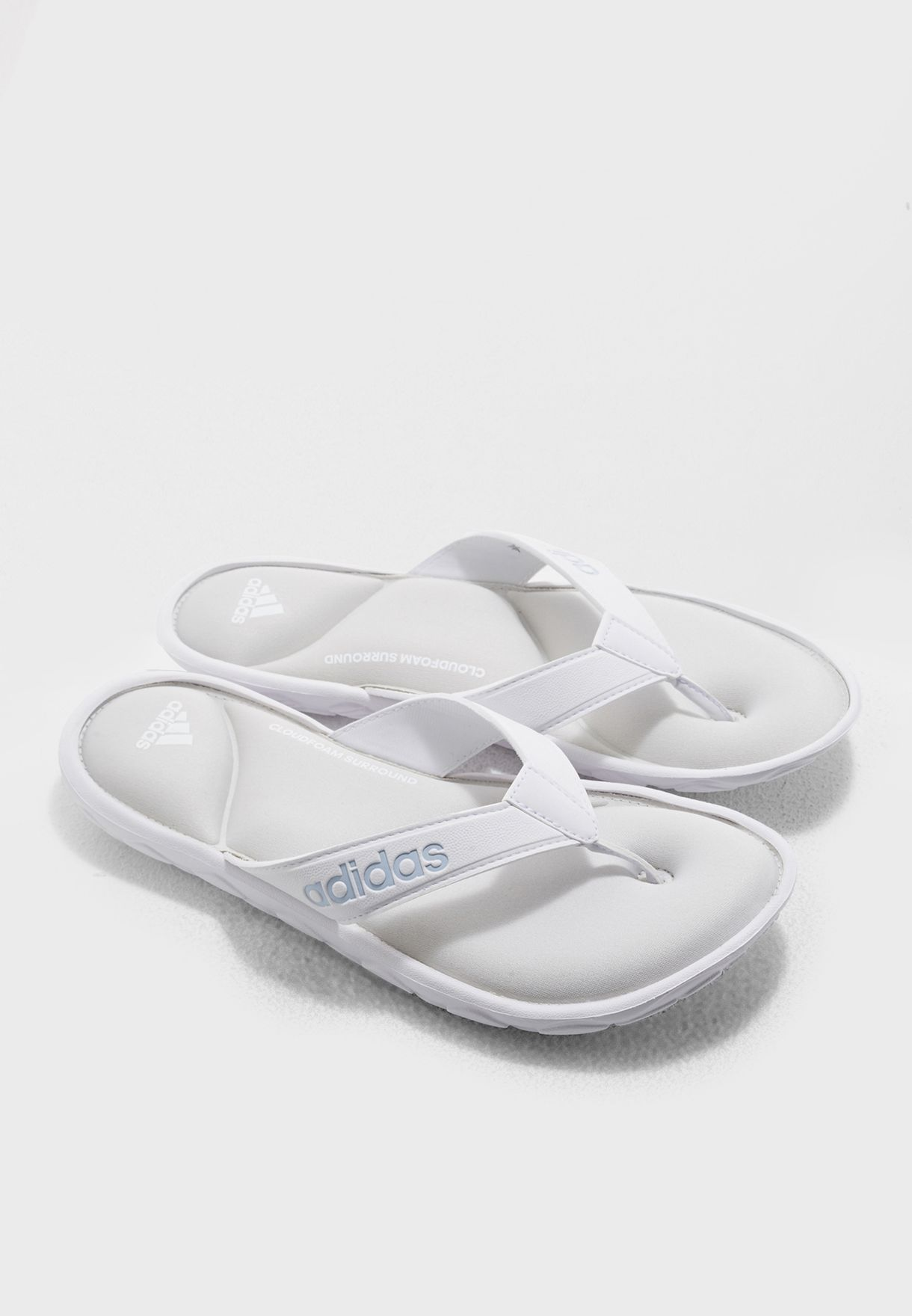 7aeb6b20a Shop adidas white Comfort CF Surround DA9100 for Women in Oman ...
