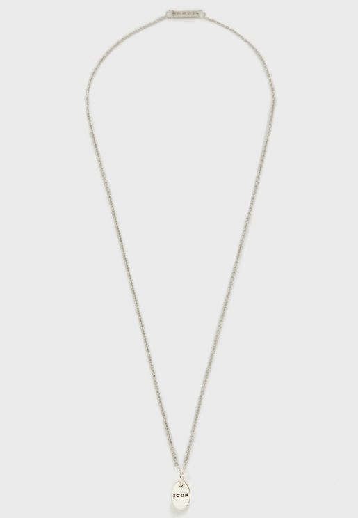 Usk Oval Pendant Necklace