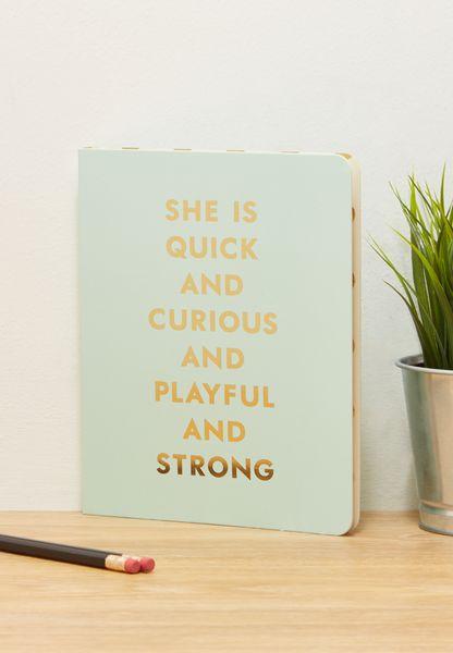 Quick & Curious Spiral Notebook