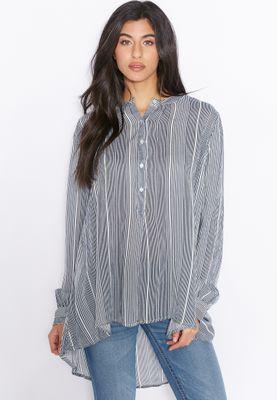 MANGO Striped Top