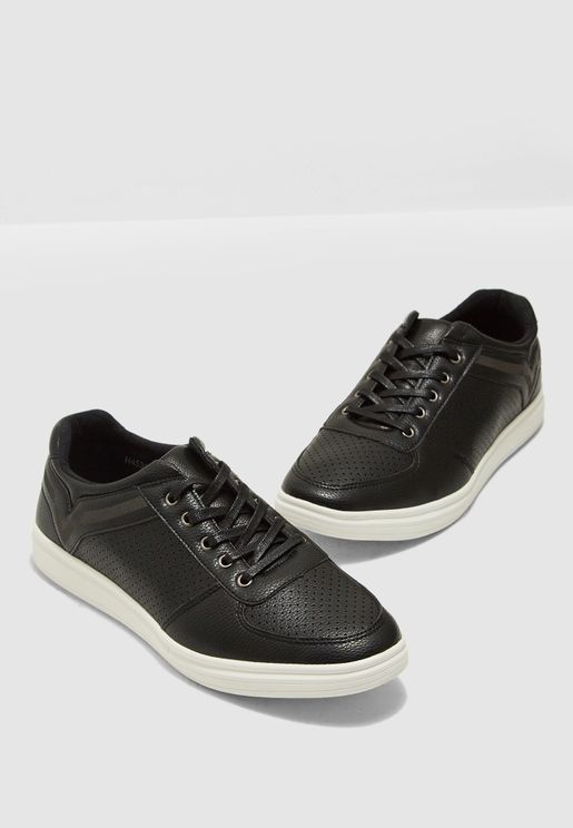 Dual Lace Casual Sneakers