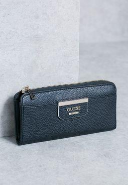 Slim Bobbi Zip Wallet