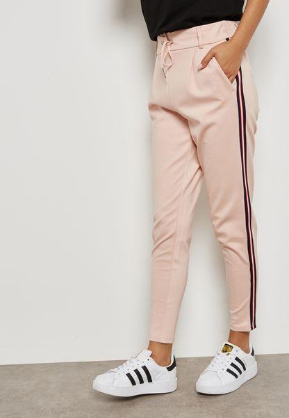 Side Striped Pants