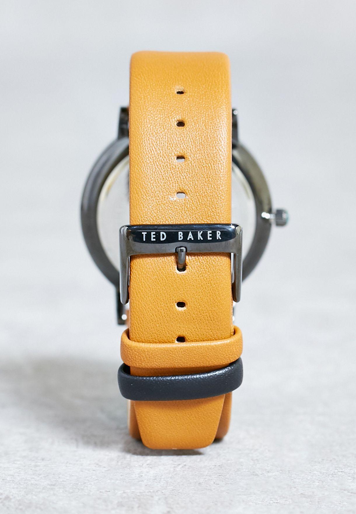 397f9f1c71b428 Shop Ted baker browns Brit Watch 10009249 for Men in UAE - TE456AC13YCW