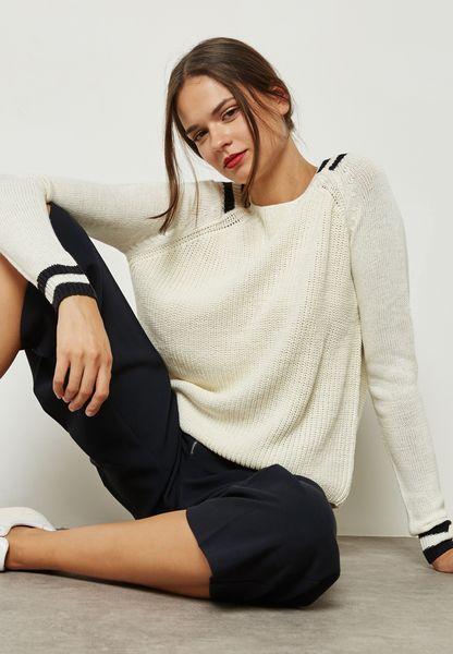 Varsity Detail Sweater