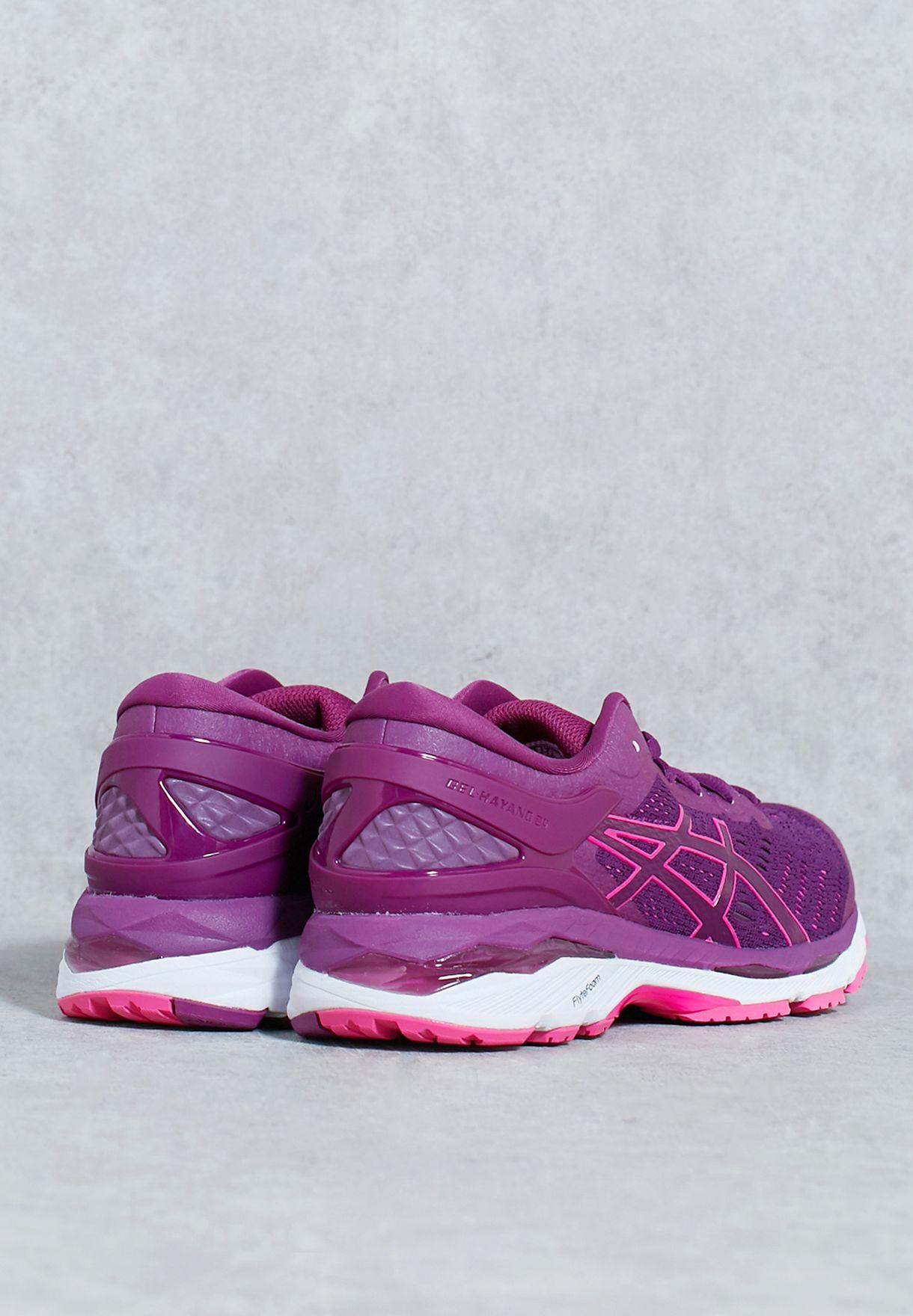 Shop Asics Purple Gel Kayano 24 T799n 3320 For Women In