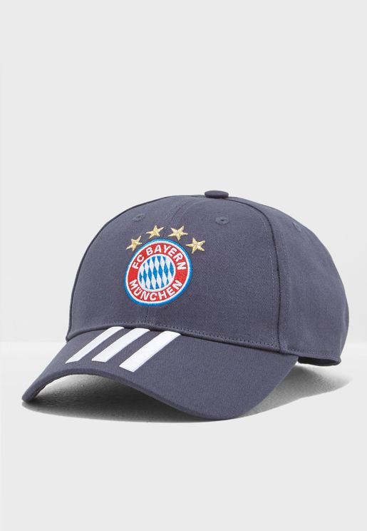 FC Bayern 3 Stripe Cap