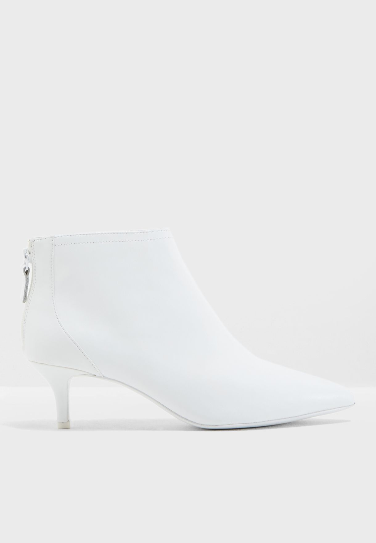 Buy Mango white Ankle Onia1 Ankle Boot