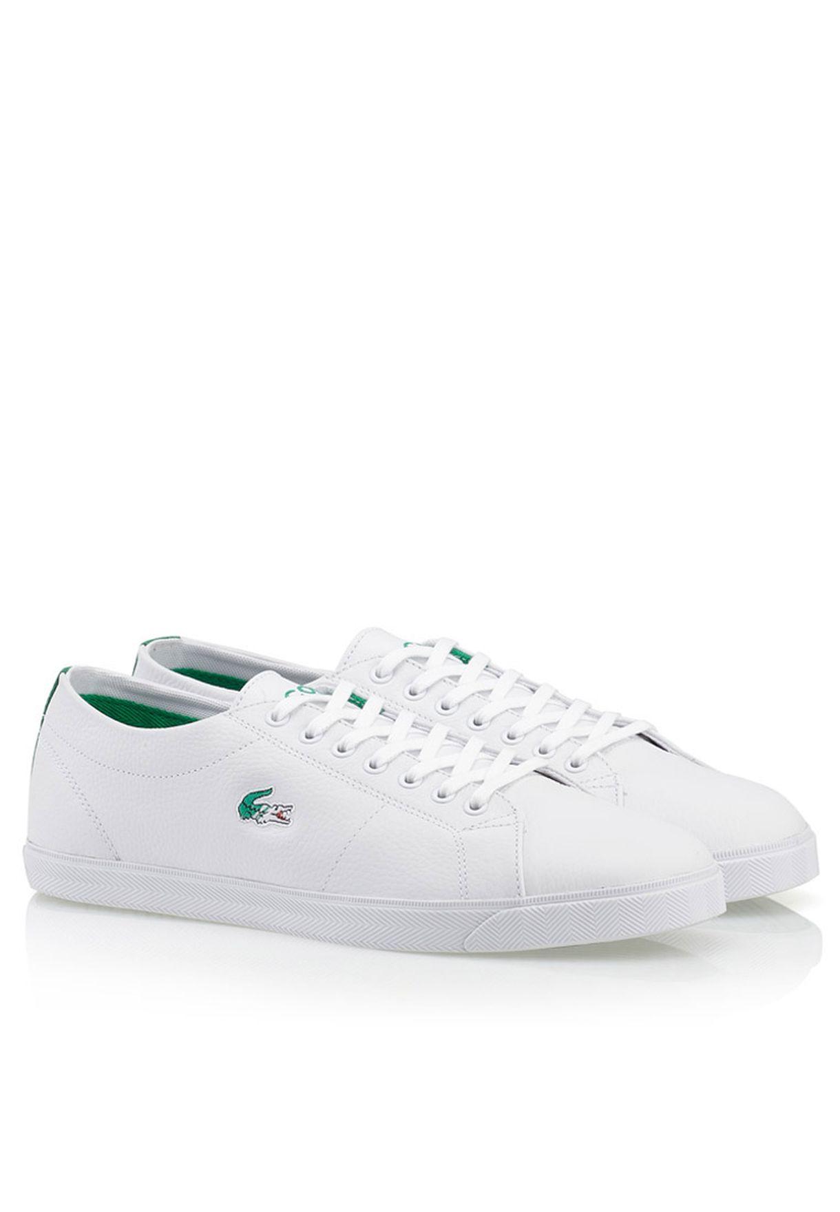 9f1227344 تسوق حذاء رياضي ماركة لاكوست لون أبيض 27SPM1011-082 في السعودية ...