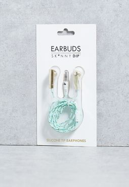 Mint Rope Earbuds