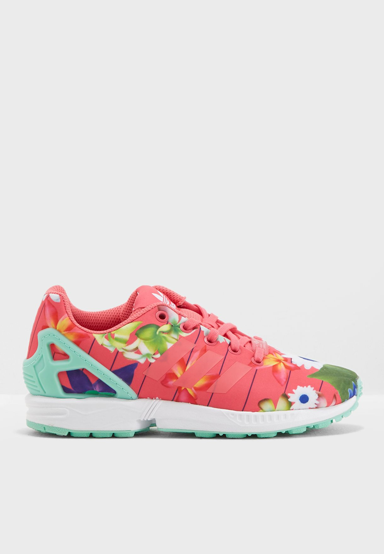 4a3e54b28315d Shop adidas Originals prints ZX Flux Youth CM8135 for Kids in UAE ...