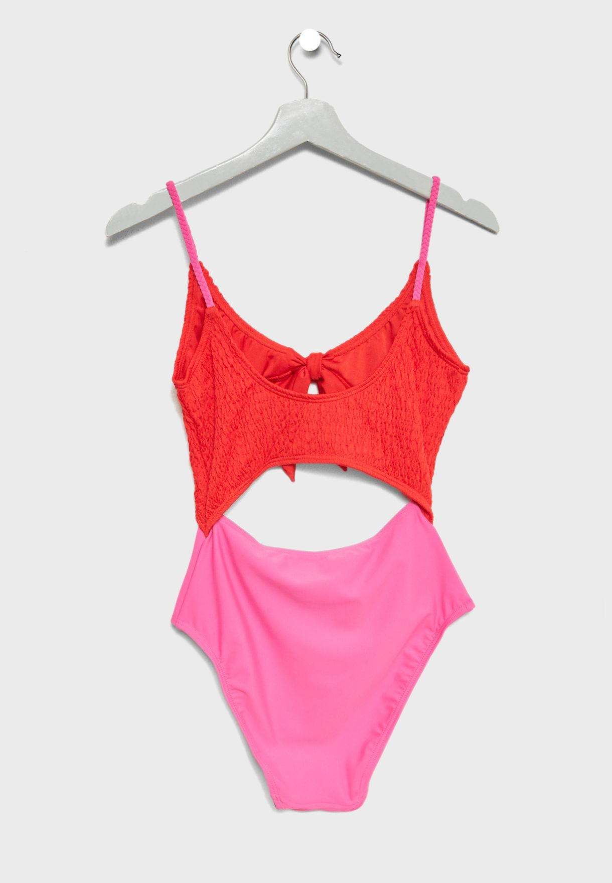 Front Knot Swimsuit