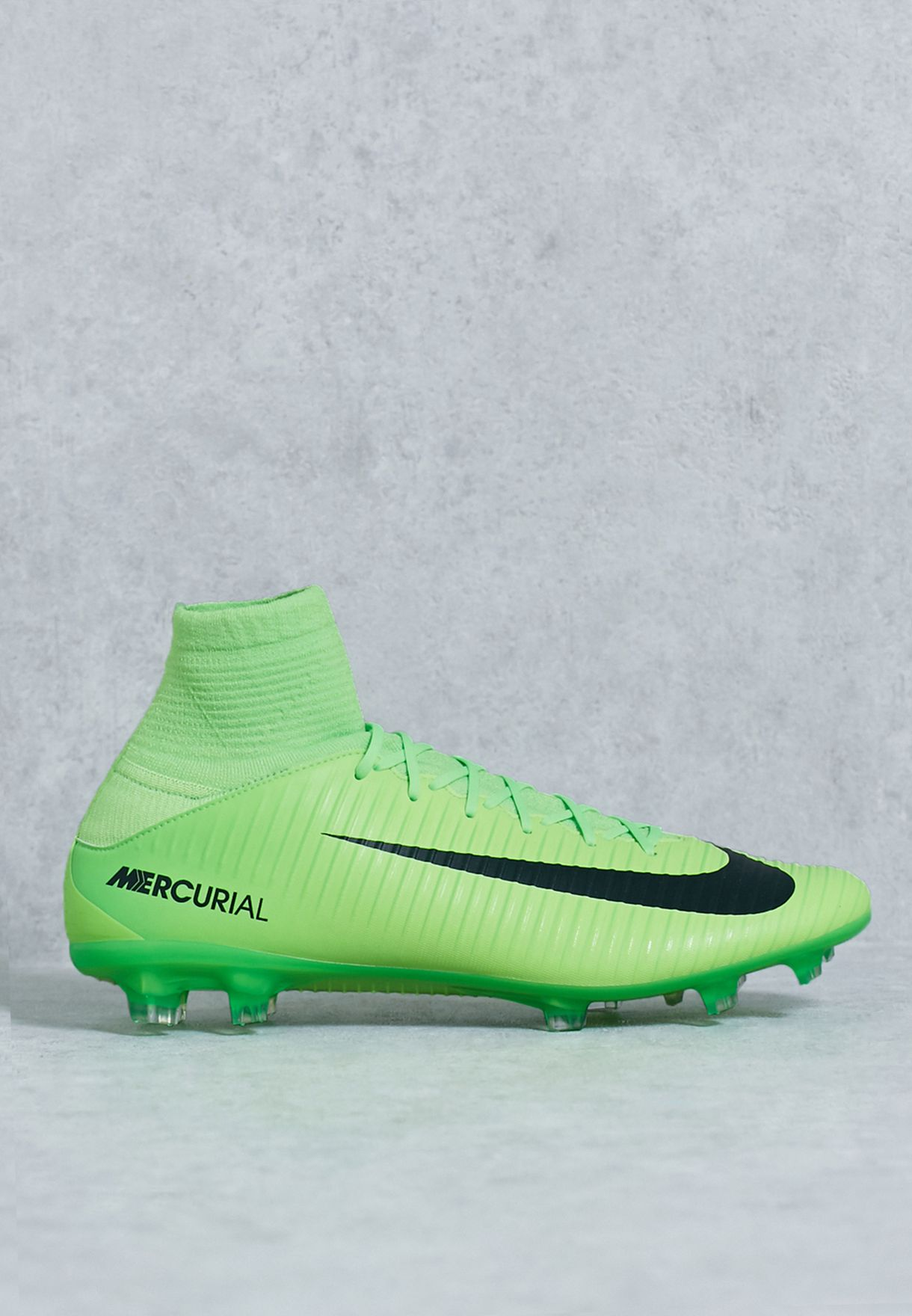 sale retailer c6300 fb156 Shop Nike green Mercurial Veloce III DF FG 831961-303 for Men in Bahrain -  NI727SH13ZCW