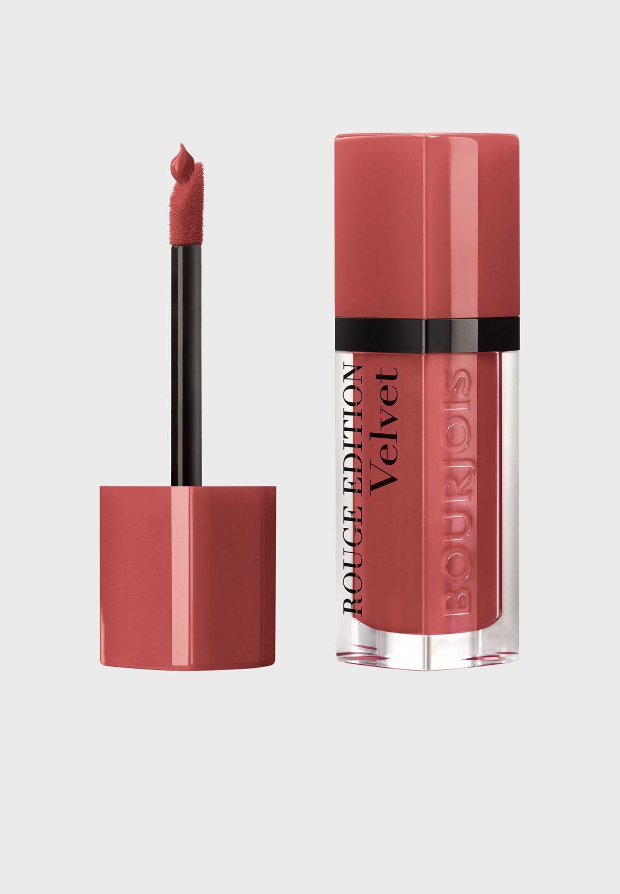 Rouge Edition Velvet Liquid lipstick 12 Beau Brun