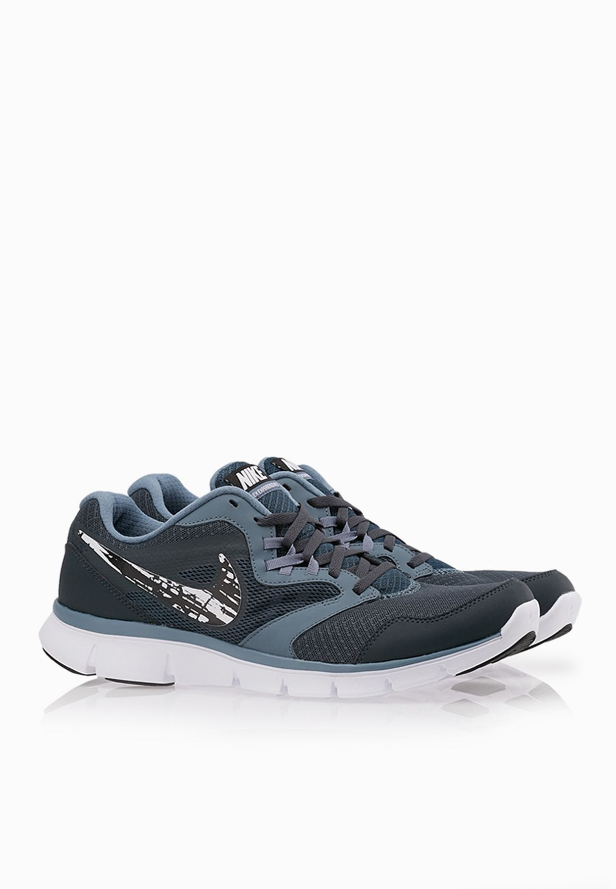b51d6963fa9 Shop Nike grey Flex Experience RN 3 MSL 652852-014 for Men in ...