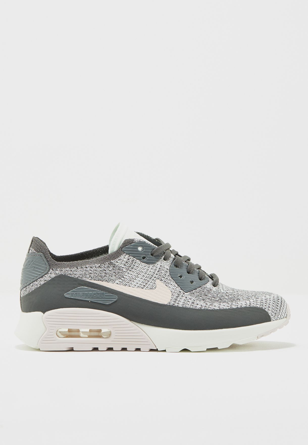 a7c5fd70ce9c Shop Nike multicolor Air Max 90 Ultra 2.0 Flyknit 881109-003 for ...