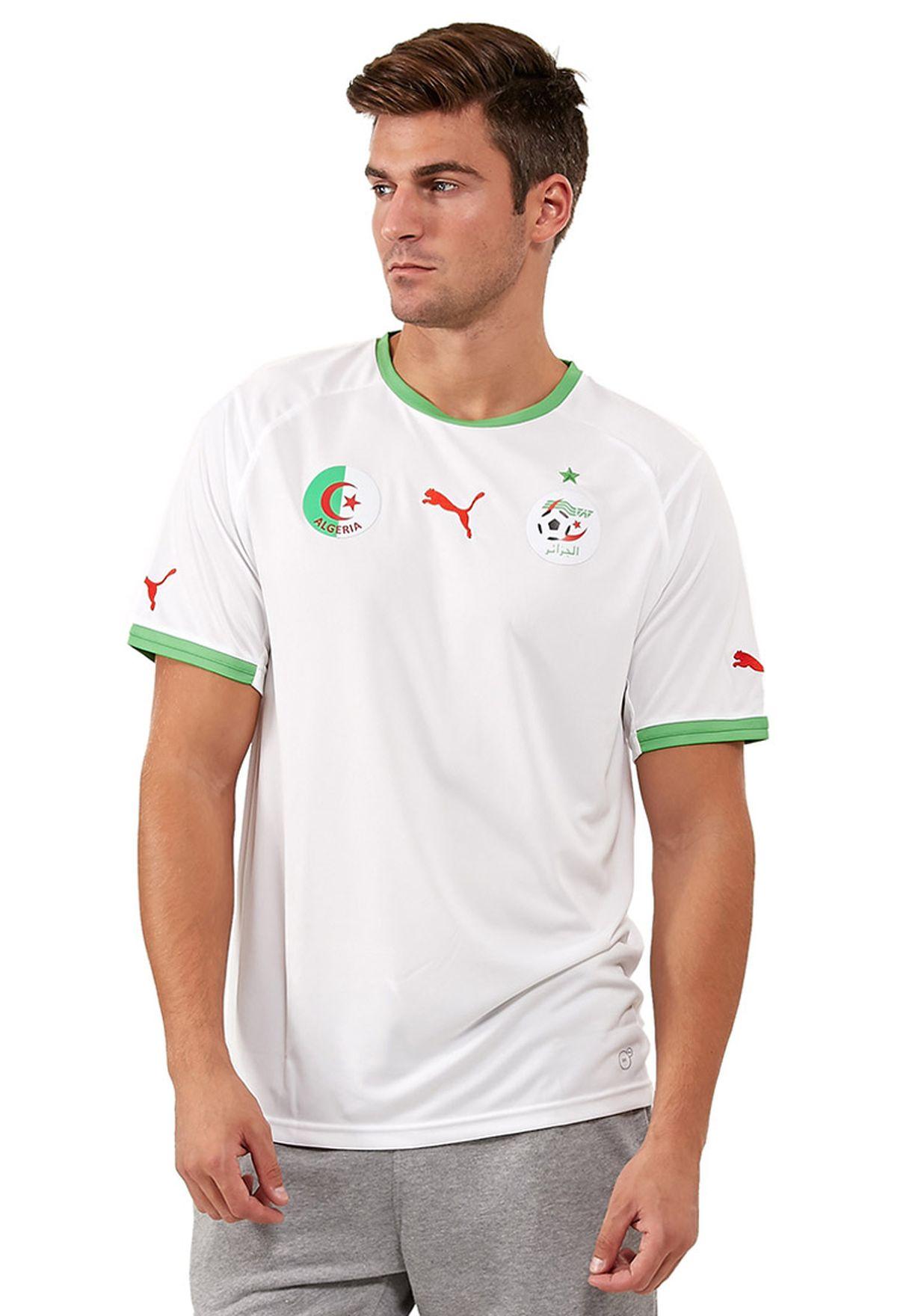 85d19261a8244 تسوق Algeria Home تى شيرت ماركة بوما لون أبيض 74462801 في السعودية ...