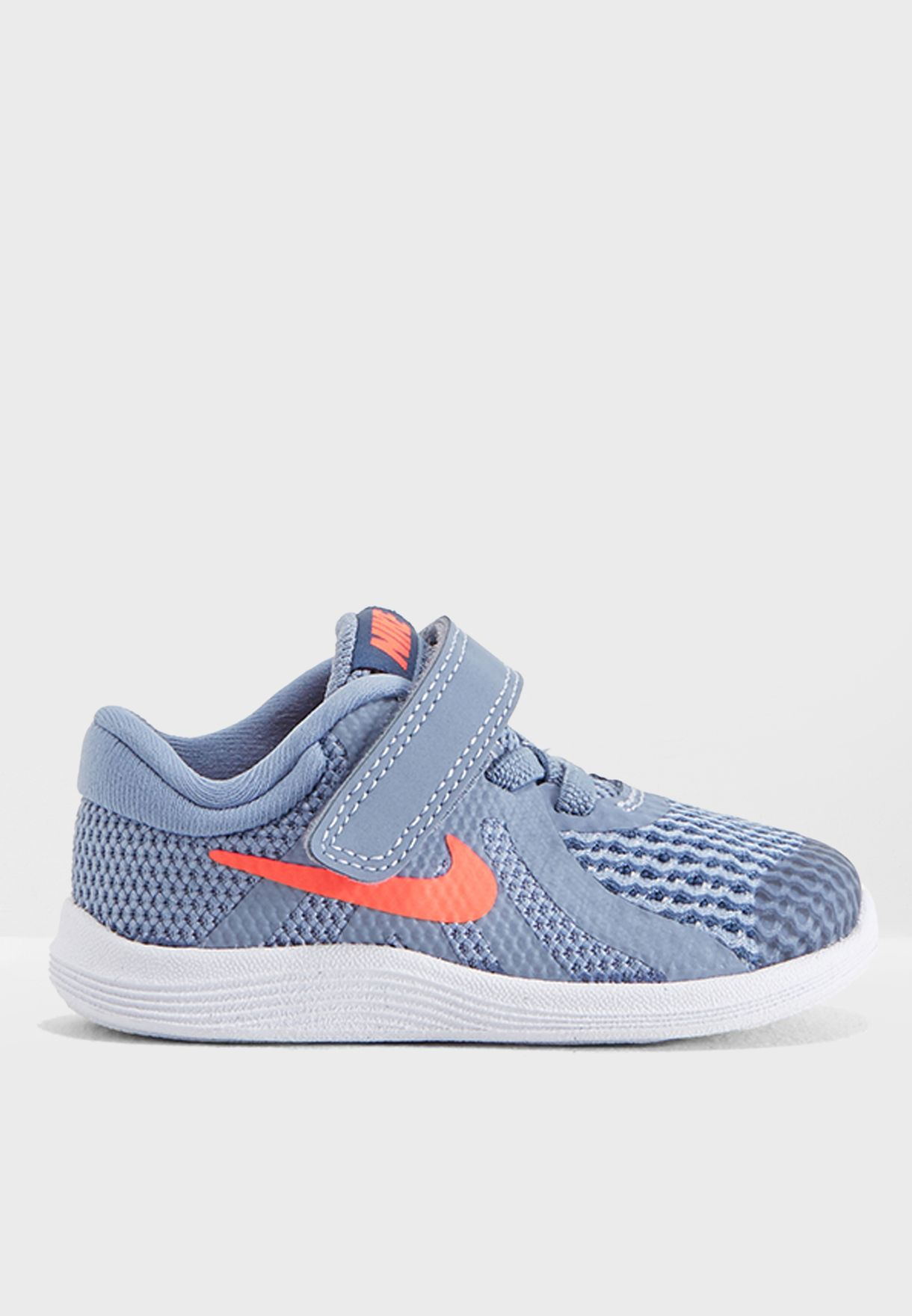 09fd0c4321de Shop Nike grey Infant Revolution 4 943304-400 for Kids in UAE ...