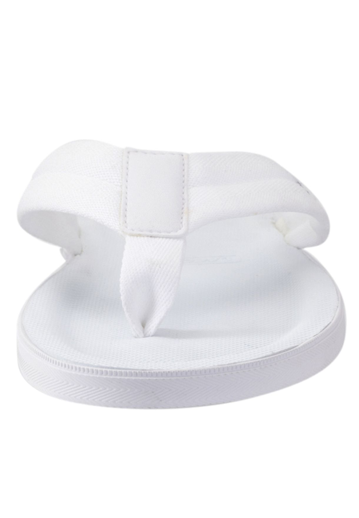 4ae8be7cfc78 Shop Lacoste white Casual Flipflops 25SPM4017-21G for Men in Bahrain ...