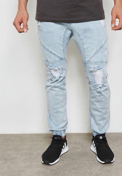 Slim Fit Joggers Jeans