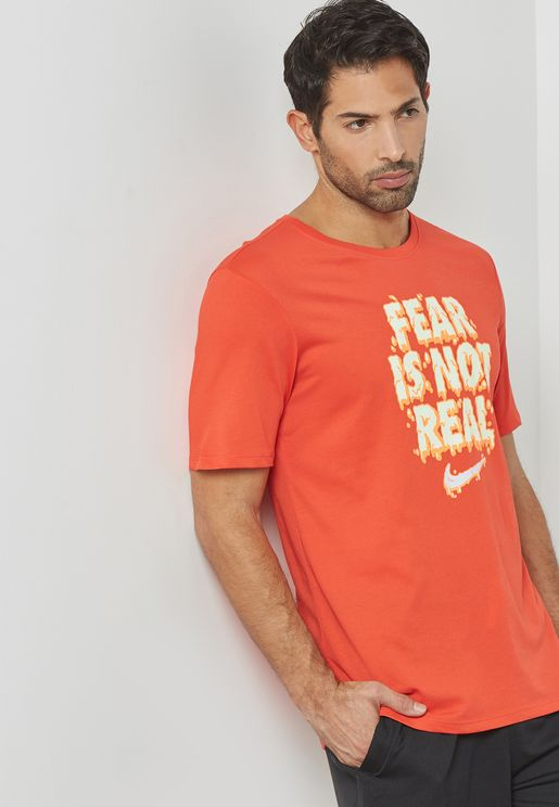 Dri-FIT Kyrie Fear Is Not T-Shirt