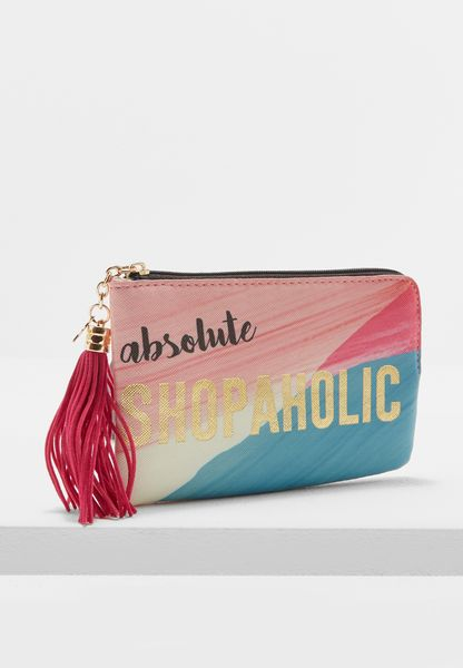 "Ta-Daa ""Shopper "" Zip Purse"