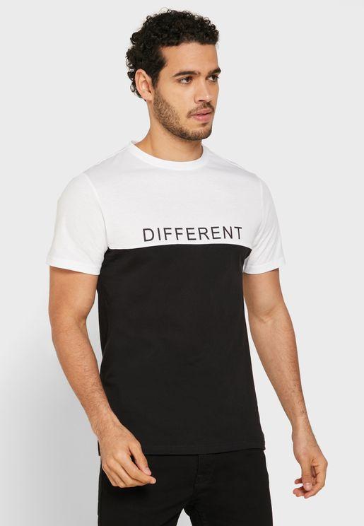 Different Crew Neck T-Shirt