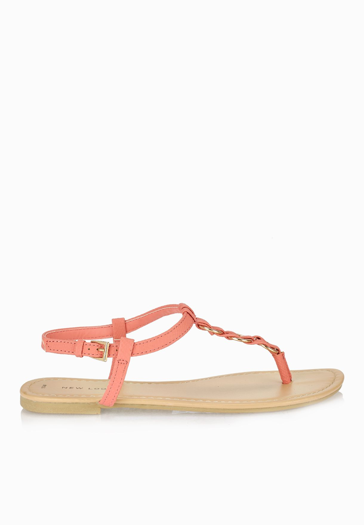28a7be3492eb Shop New Look pink Hooping Thong Sandals for Women in Bahrain ...
