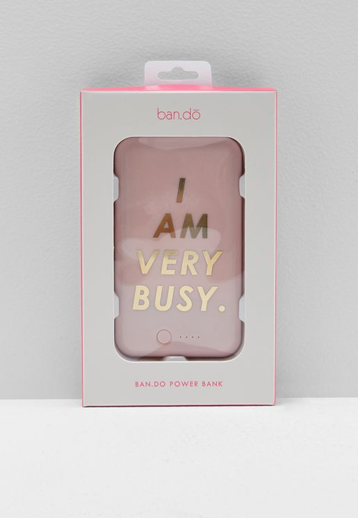 I Am Very Busy Power Bank