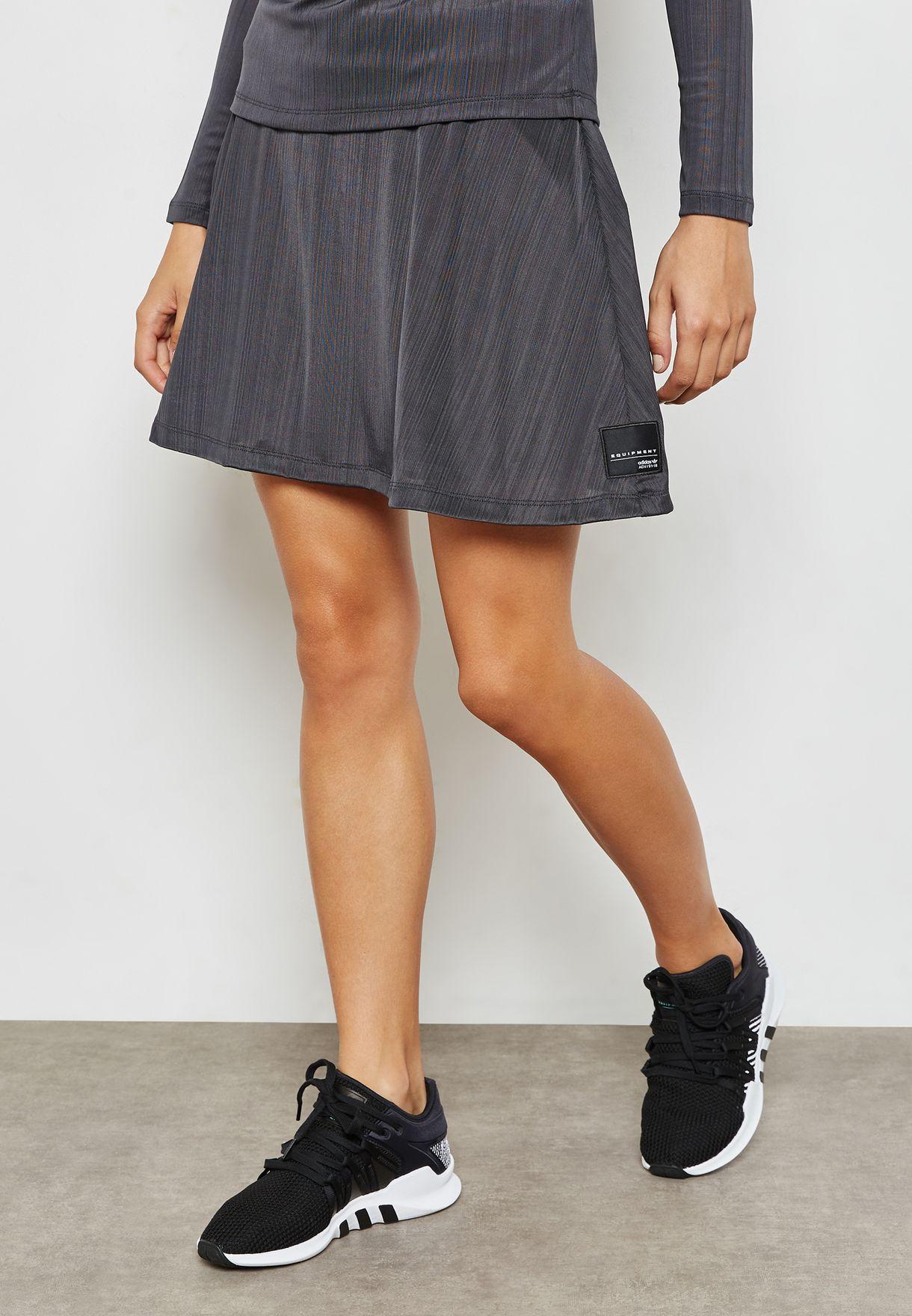 Buy adidas Originals grey EQT Skirt for