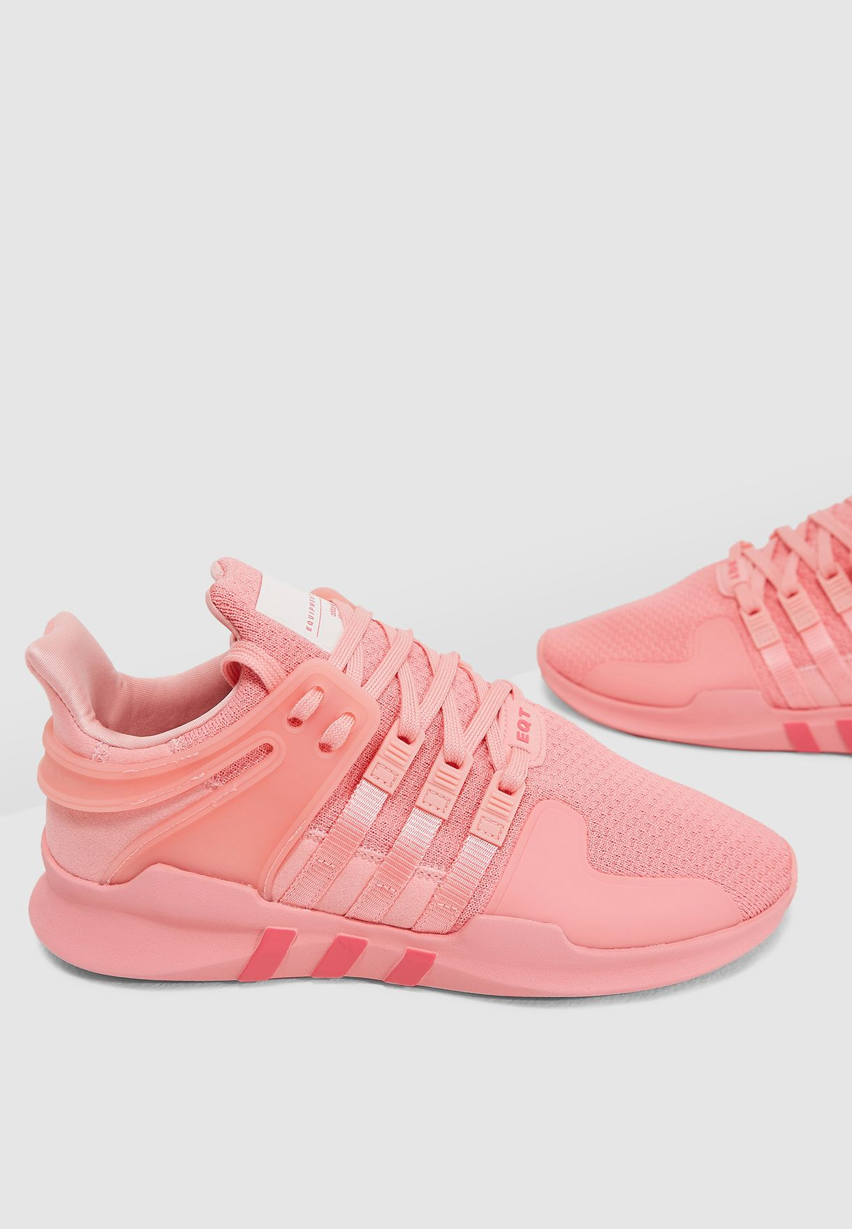 hot sale online 5e700 f7f6e Shop adidas Originals pink EQT Support ADV B37541 for Women