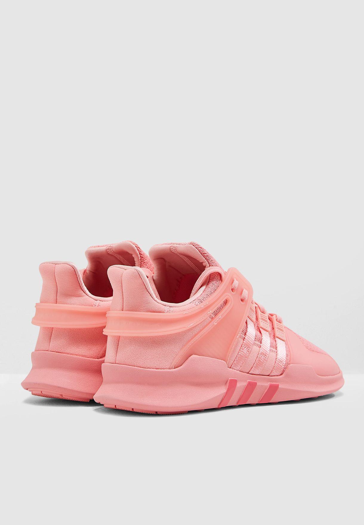 5e4f7a9aeebbf3 Shop adidas Originals pink EQT Support ADV B37541 for Women in ...