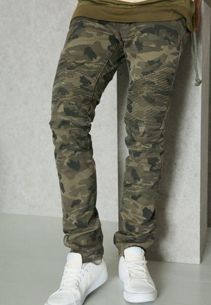 جينز مطبع