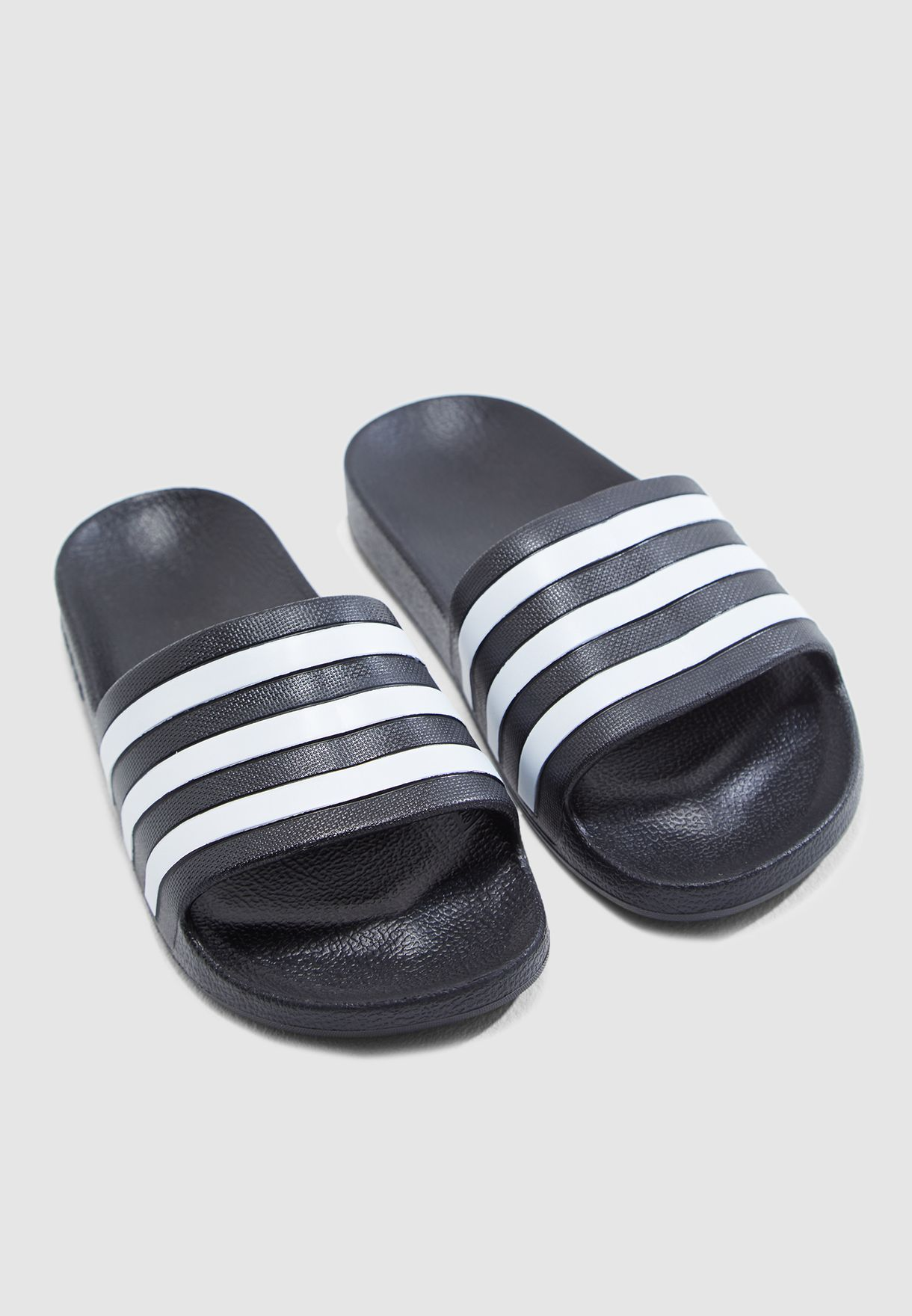 c492f56b6801 Shop adidas black Adilette Aqua Slides F35543 for Women in Saudi ...