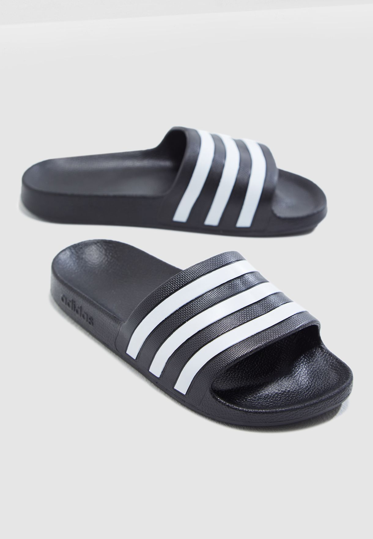 3e8c4fae3b36 Shop adidas black Adilette Aqua Slides F35543 for Women in UAE ...