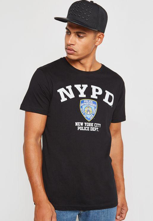 NYPD Logo T-Shirt