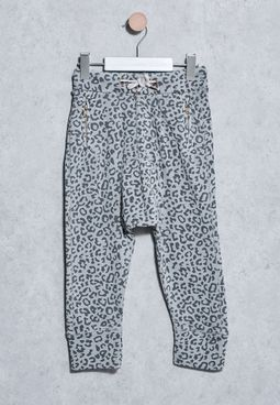 Kids Printed Trousers